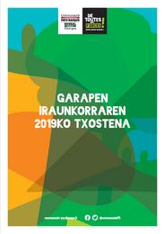 2019 urteko Garapen iraunkorraren txostena